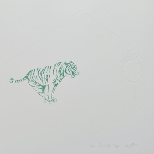 Maud tigre vert transparent 1
