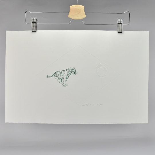 Maud tigre vert transparent 2