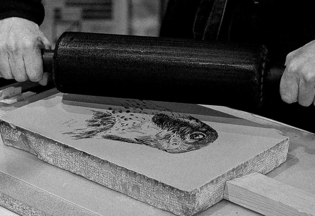 Atelier de lithographie de Patrice
