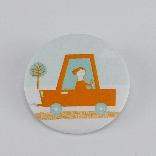 Claire automobile badge 1