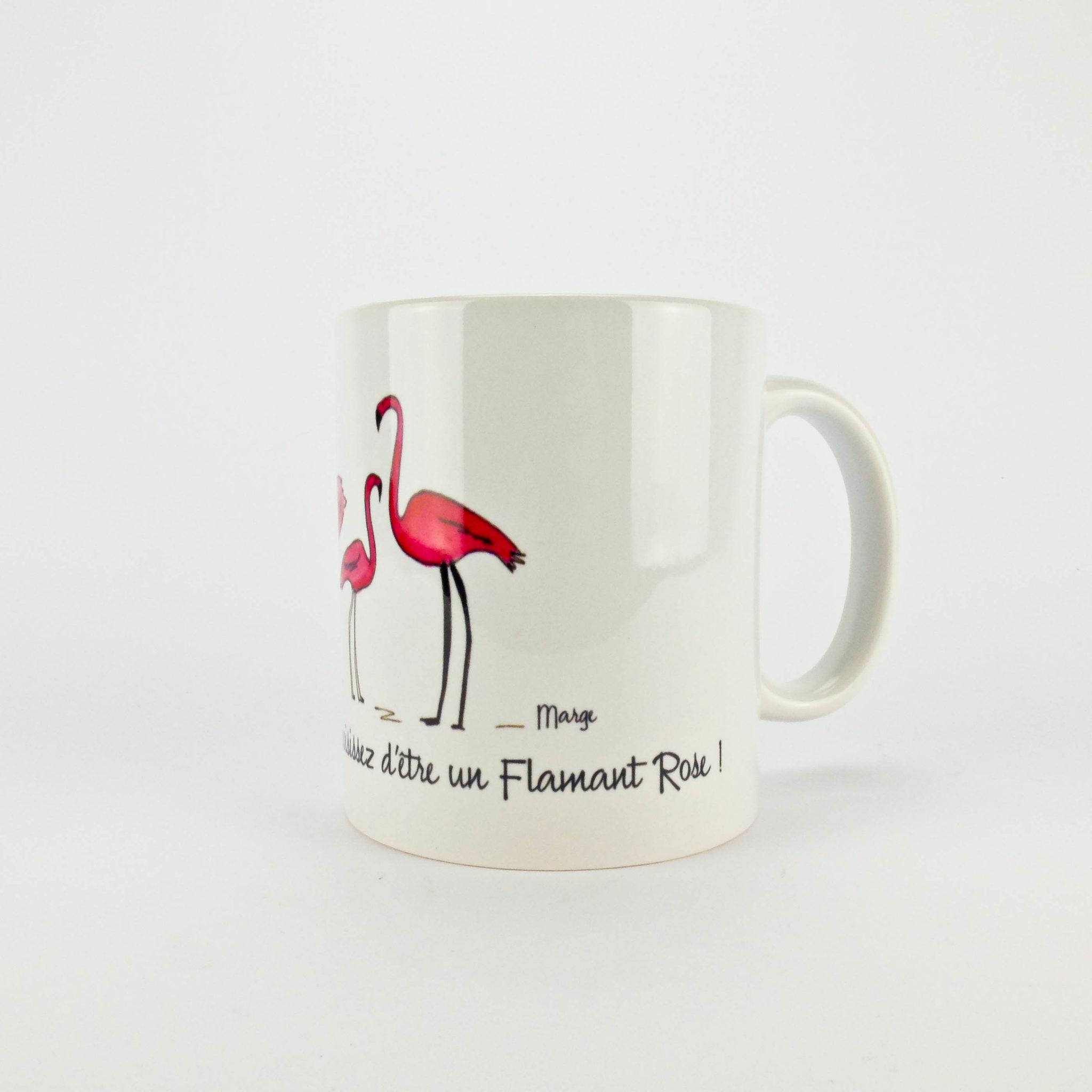 flamant rose mug le march super. Black Bedroom Furniture Sets. Home Design Ideas