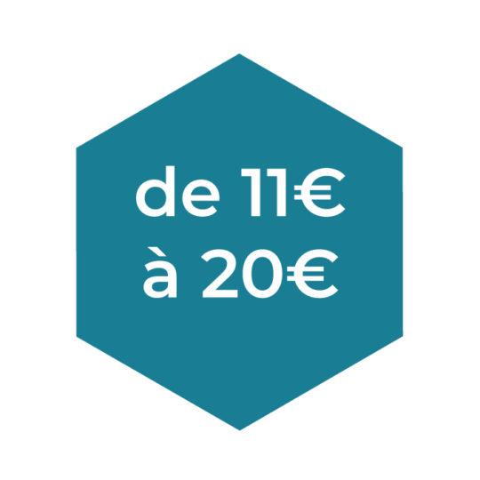 De 11 à 20€