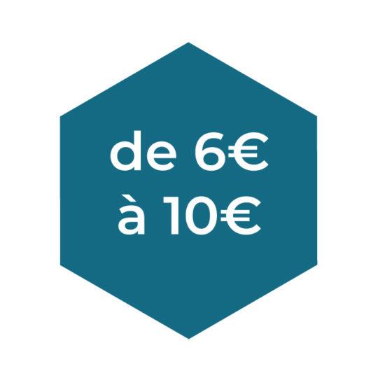 De 06 à 10€